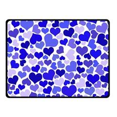 Heart 2014 0924 Double Sided Fleece Blanket (Small)