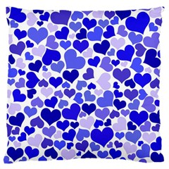 Heart 2014 0924 Large Flano Cushion Cases (one Side)