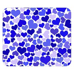 Heart 2014 0924 Double Sided Flano Blanket (Small)