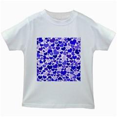 Heart 2014 0925 Kids White T-Shirts
