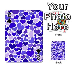 Heart 2014 0925 Playing Cards 54 Designs