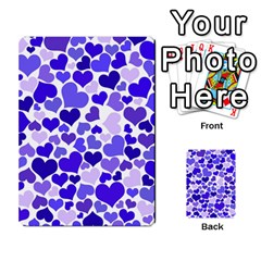 Heart 2014 0925 Multi-purpose Cards (Rectangle)