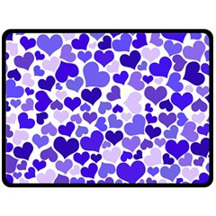 Heart 2014 0925 Fleece Blanket (Large)