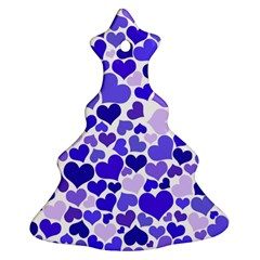 Heart 2014 0925 Christmas Tree Ornament (2 Sides)