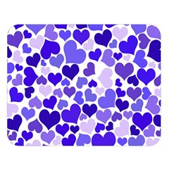 Heart 2014 0925 Double Sided Flano Blanket (Large)