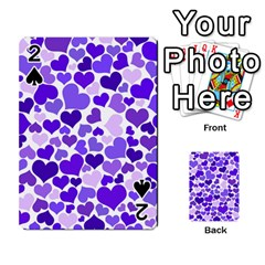 Heart 2014 0926 Playing Cards 54 Designs