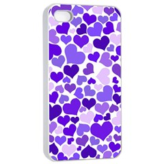 Heart 2014 0926 Apple iPhone 4/4s Seamless Case (White)