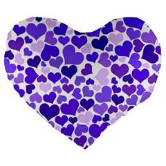 Heart 2014 0926 Large 19  Premium Heart Shape Cushions