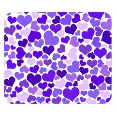 Heart 2014 0926 Double Sided Flano Blanket (Small)