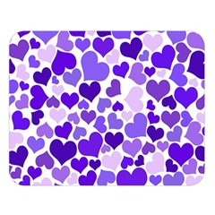 Heart 2014 0926 Double Sided Flano Blanket (Large)