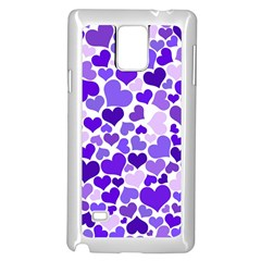 Heart 2014 0926 Samsung Galaxy Note 4 Case (white)