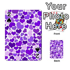 Heart 2014 0927 Playing Cards 54 Designs