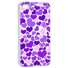 Heart 2014 0927 Apple iPhone 4/4s Seamless Case (White)