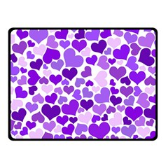 Heart 2014 0927 Double Sided Fleece Blanket (Small)