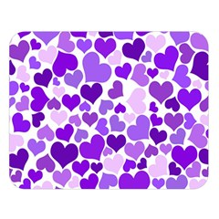 Heart 2014 0927 Double Sided Flano Blanket (Large)