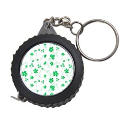 Sweet Shiny Floral Green Measuring Tapes