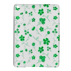 Sweet Shiny Floral Green Ipad Air 2 Hardshell Cases