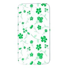 Sweet Shiny Floral Green Samsung Galaxy Mega I9200 Hardshell Back Case