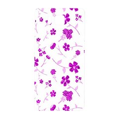 Sweet Shiny Floral Pink Samsung Galaxy Alpha Hardshell Back Case