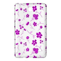 Sweet Shiny Floral Pink Samsung Galaxy Tab 4 (8 ) Hardshell Case