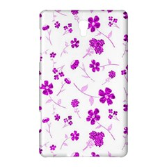 Sweet Shiny Floral Pink Samsung Galaxy Tab S (8.4 ) Hardshell Case