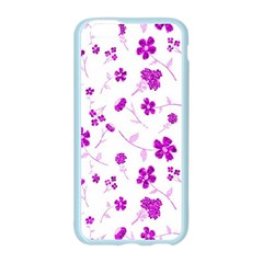 Sweet Shiny Floral Pink Apple Seamless iPhone 6 Case (Color)
