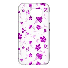 Sweet Shiny Floral Pink Galaxy S6