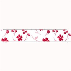 Sweet Shiny Floral Red Small Bar Mats