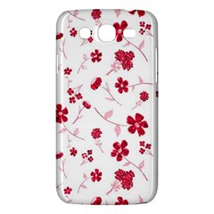 Sweet Shiny Floral Red Samsung Galaxy Mega 5 8 I9152 Hardshell Case