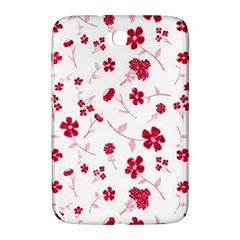 Sweet Shiny Floral Red Samsung Galaxy Note 8 0 N5100 Hardshell Case