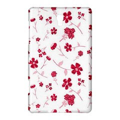 Sweet Shiny Floral Red Samsung Galaxy Tab S (8.4 ) Hardshell Case