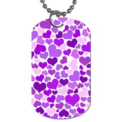 Heart 2014 0928 Dog Tag (one Side)