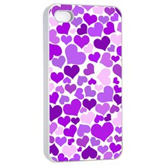 Heart 2014 0928 Apple iPhone 4/4s Seamless Case (White)