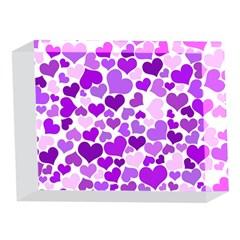 Heart 2014 0928 5 x 7  Acrylic Photo Blocks