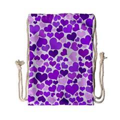 Heart 2014 0928 Drawstring Bag (Small)