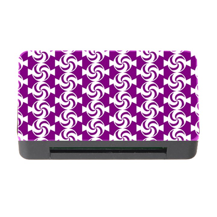 Candy Illustration Pattern Memory Card Reader with CF