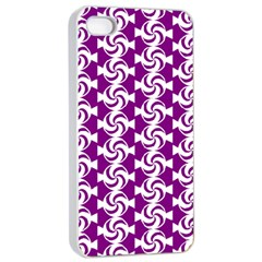 Candy Illustration Pattern Apple Iphone 4/4s Seamless Case (white)