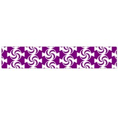 Candy Illustration Pattern Flano Scarf (Large)