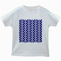 Candy Illustration Pattern Kids White T Shirts