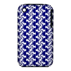 Candy Illustration Pattern Apple Iphone 3g/3gs Hardshell Case (pc+silicone)