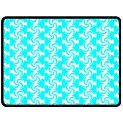 Candy Illustration Pattern Fleece Blanket (Large)
