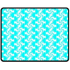 Candy Illustration Pattern Fleece Blanket (Medium)