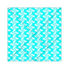 Candy Illustration Pattern Acrylic Tangram Puzzle (6  x 6 )