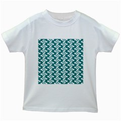 Cute Candy Illustration Pattern For Kids And Kids At Heart Kids White T-Shirts
