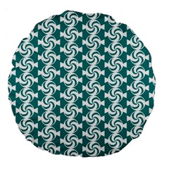 Cute Candy Illustration Pattern For Kids And Kids At Heart Large 18  Premium Flano Round Cushions