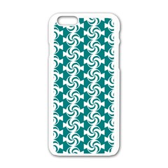 Cute Candy Illustration Pattern For Kids And Kids At Heart Apple Iphone 6 White Enamel Case