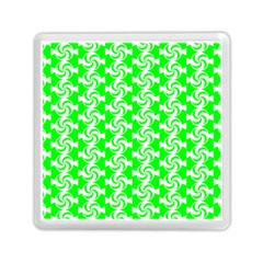 Candy Illustration Pattern Memory Card Reader (Square)