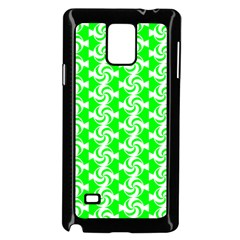 Candy Illustration Pattern Samsung Galaxy Note 4 Case (black)