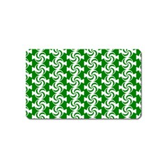 Candy Illustration Pattern Magnet (name Card)