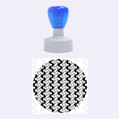 Candy Illustration Pattern Rubber Round Stamps (Medium)